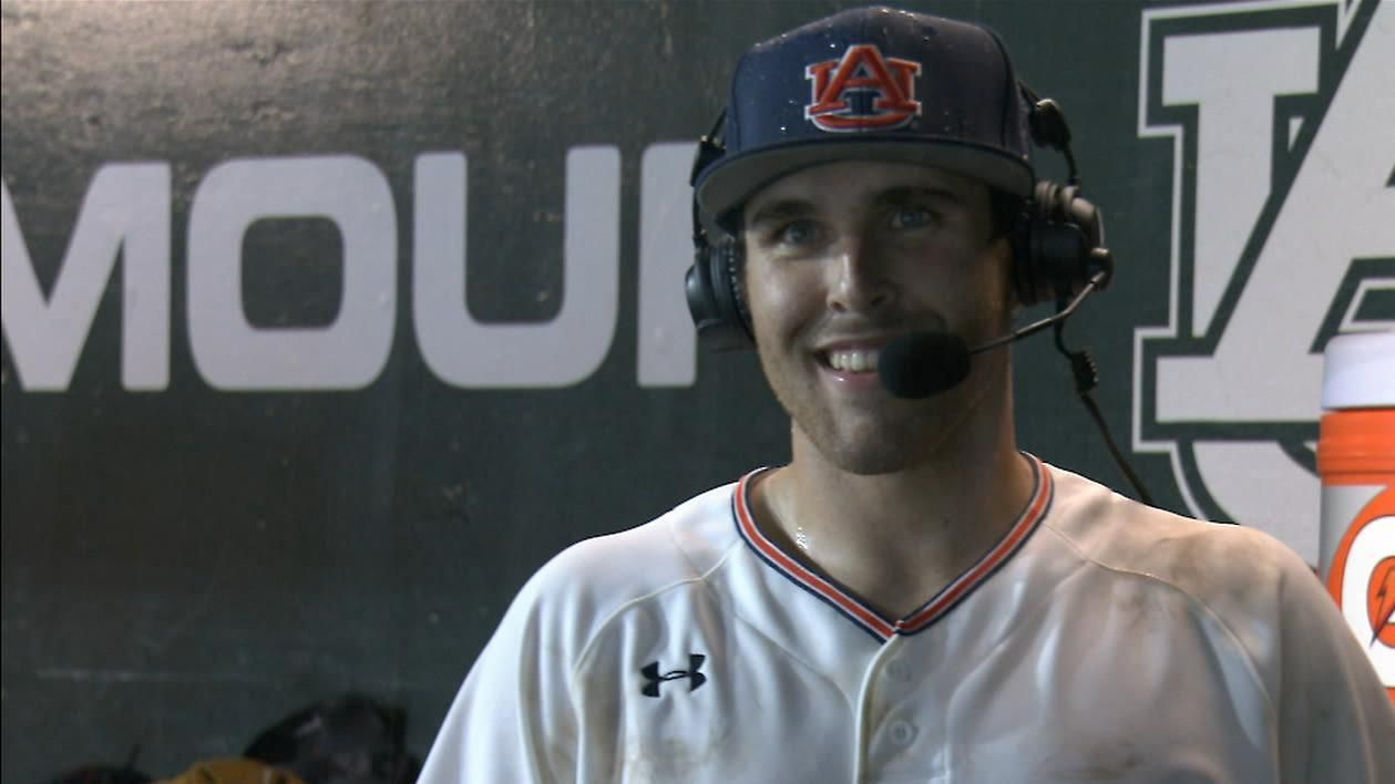 Auburn beats GA State 3-2 on Venter's walk-off
