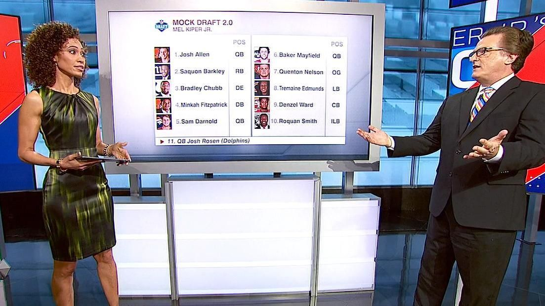 Allen projected No. 1 overall in Kiper's Mock Draft 2.0