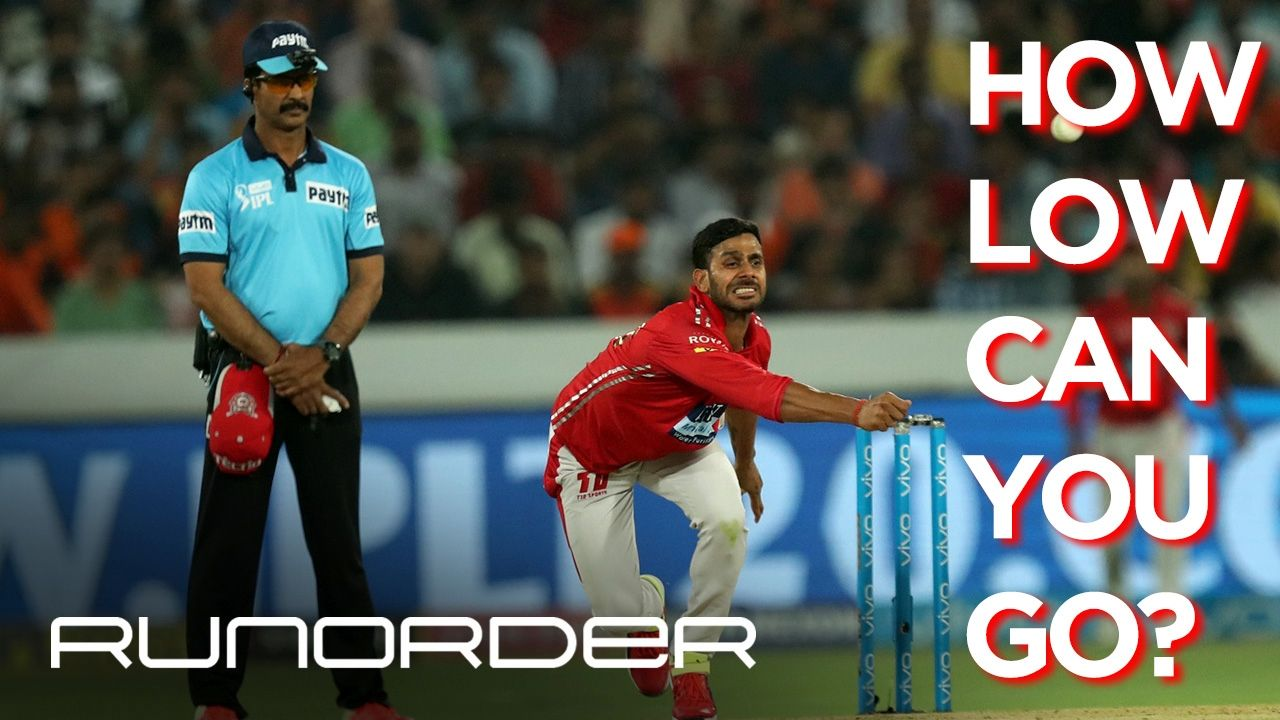 Run Order : Runorder   Bowlers, how low can you go