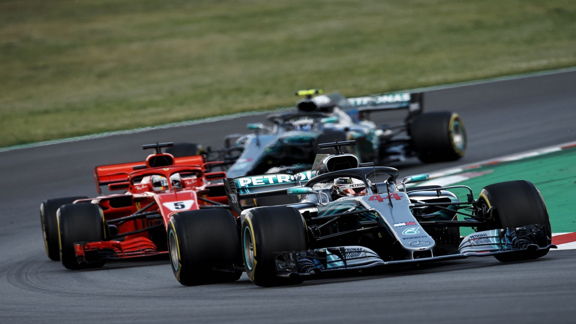 Why was Ferrari slower than Mercedes in Spain?
