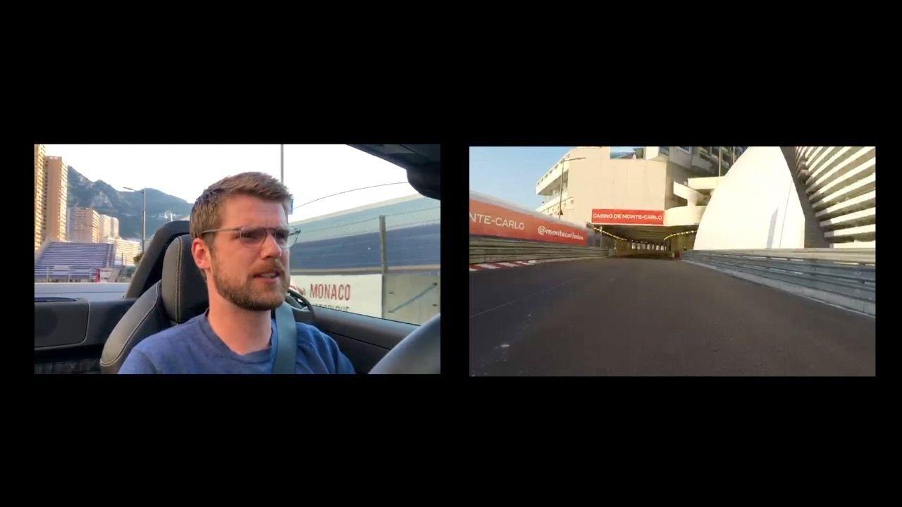 What's it like driving around the Monaco circuit?