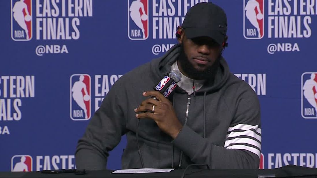 LeBron on being tired: 'Had my moments'