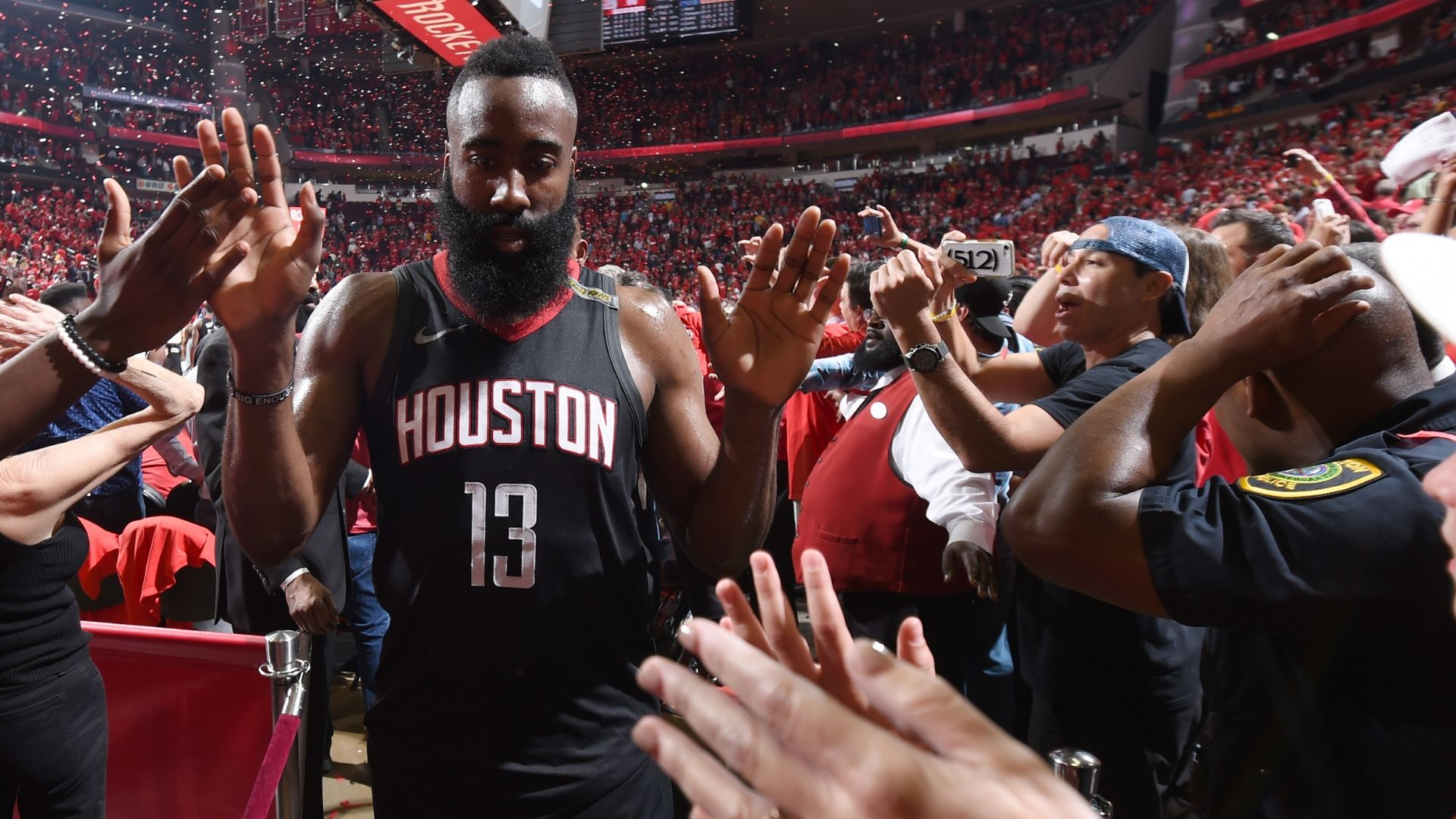 Rockets down Warriors, on brink of Finals