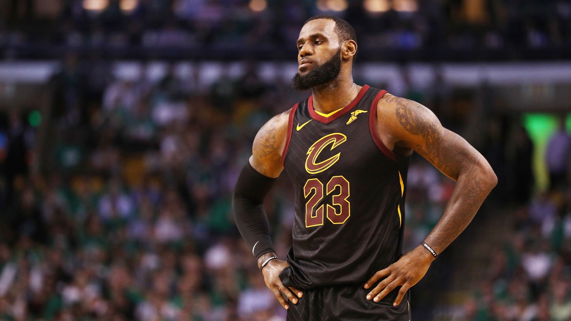 LeBron on the brink of elimination