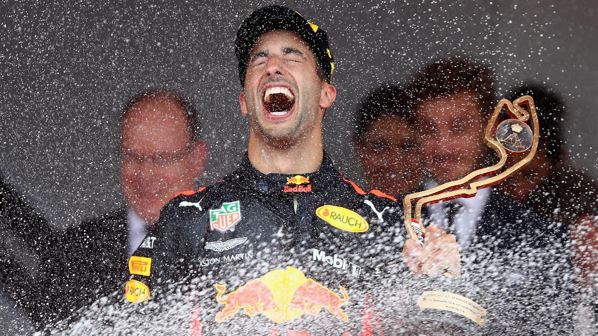 Daniel Ricciardo domina el GP de Mónaco