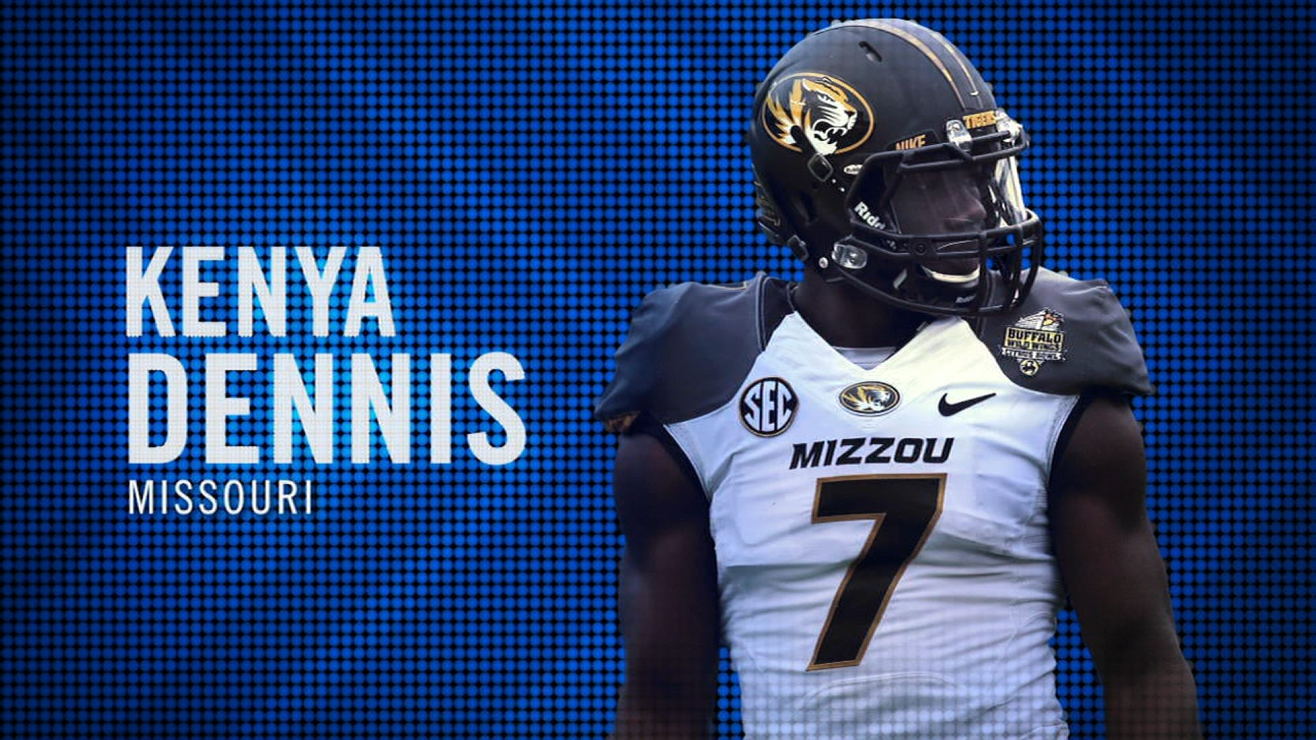 I am the SEC: Missouri's Kenya Dennis