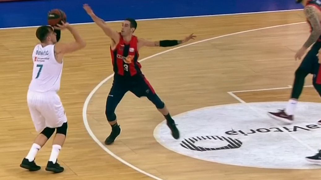Doncic electric in playoff win