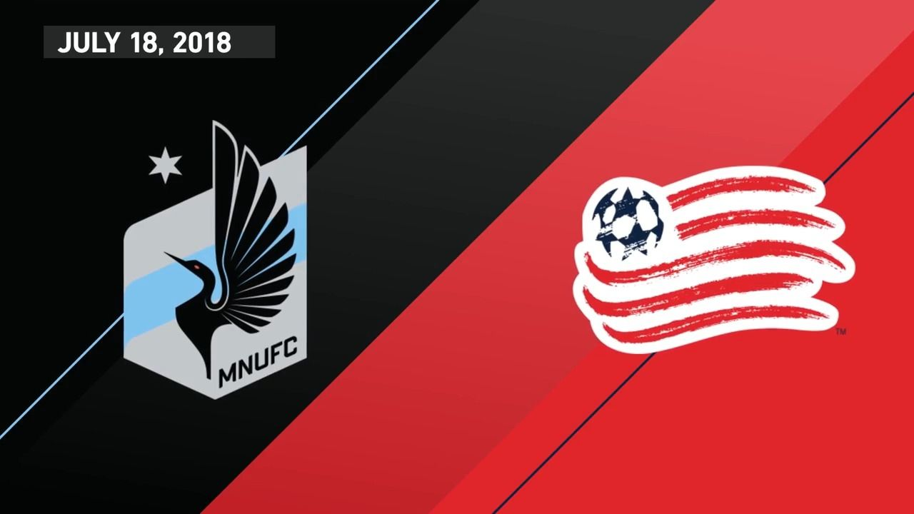 Minnesota United FC 2-1 New England Revolution - Via MLS