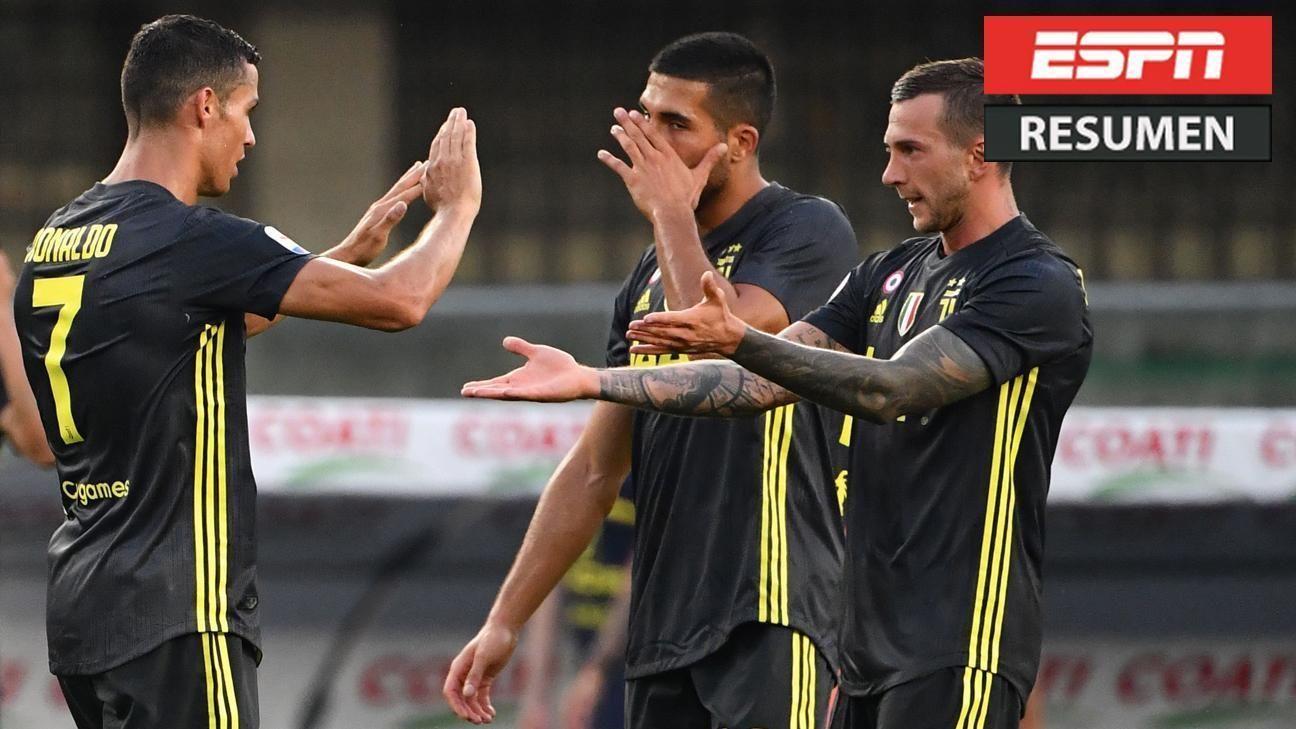 Triunfo agónico de la Juve en el debut de Cristiano Ronaldo