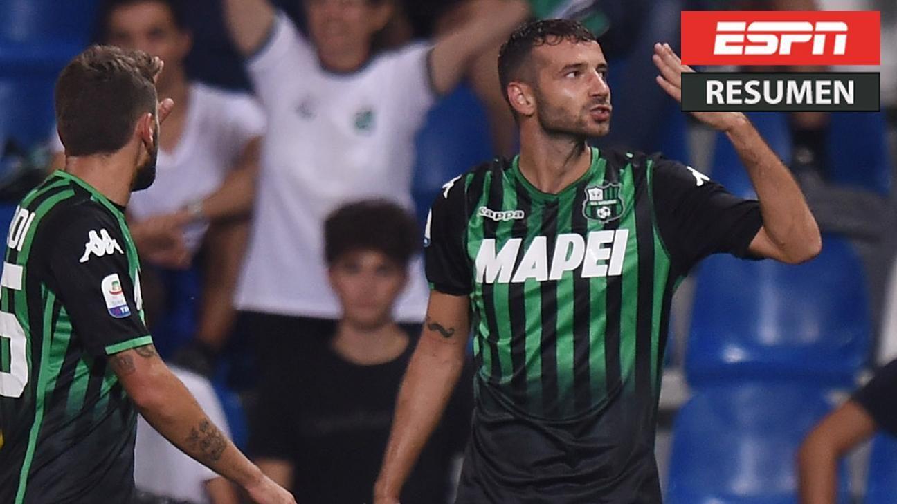 Resumen: Sassuolo 3-1 Empoli