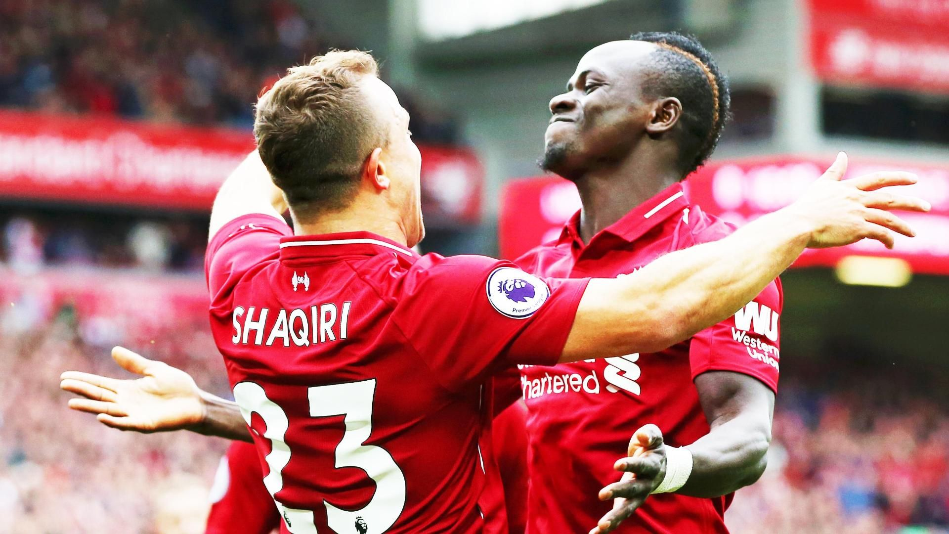 Liverpool stay top, City sizzle