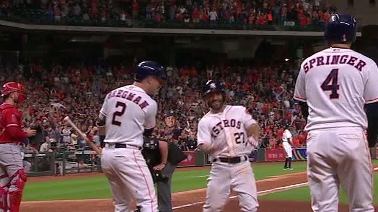 Altuve's HR caps Astros' thrilling comeback