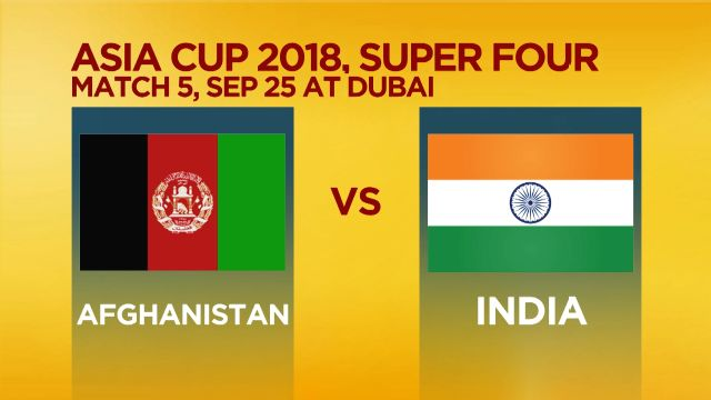 Match Preview : Afghanistan v India, Asia Cup 2018, Dubai
