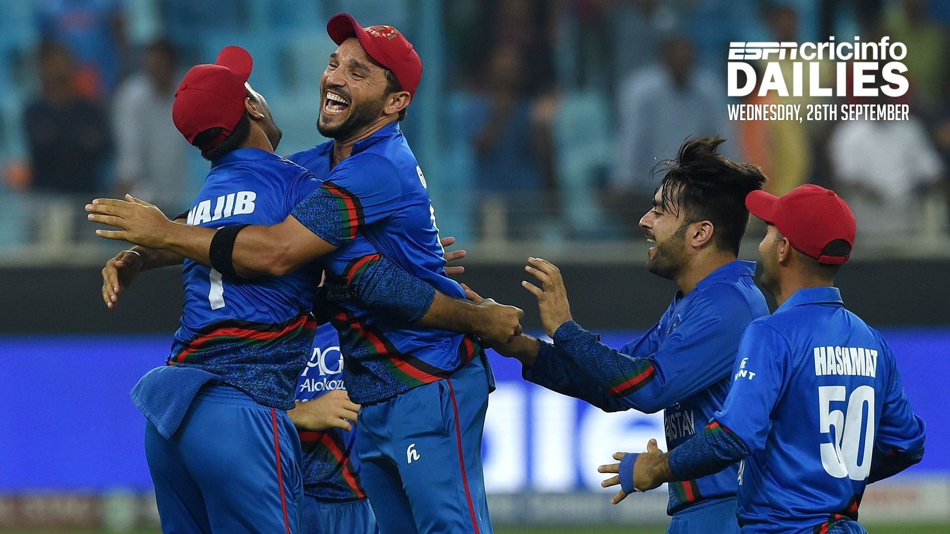 India and Afghanistan play out a thriller in the Asia Cup