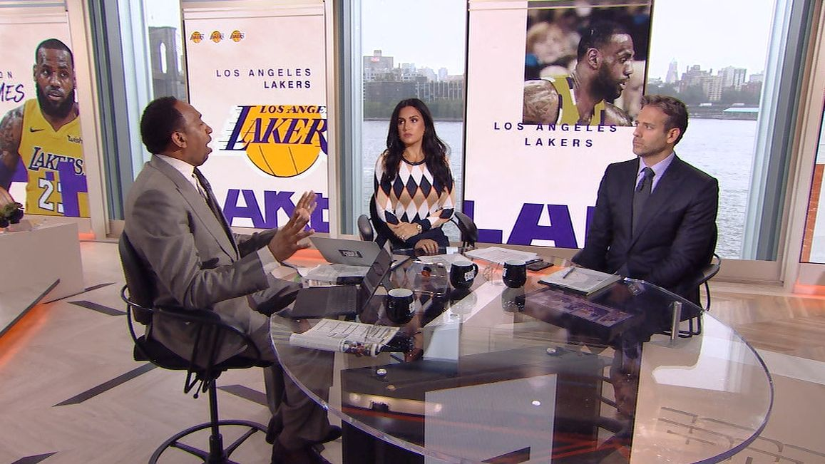 Stephen A.: 'LeBron knows exactly what he's doing'