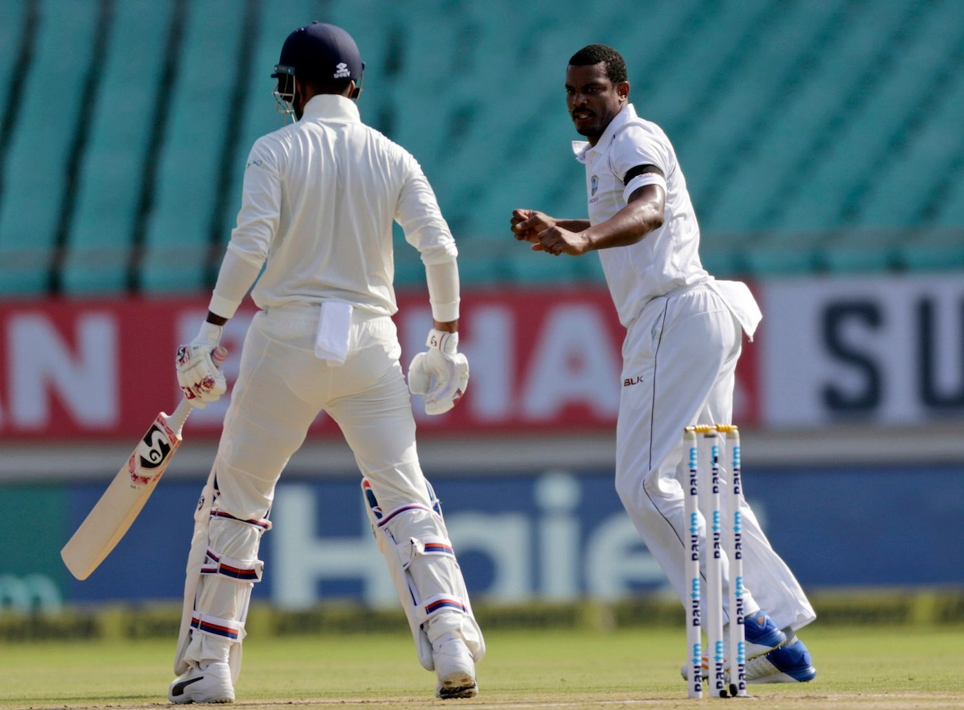 Match Day : India v West Indies, 1st Test, Rajkot, 2nd day | Rest