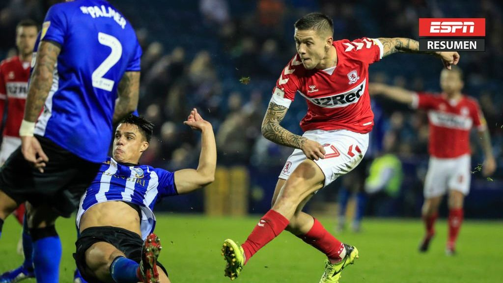 Resumen: Middlesbrough ganó y lidera la Championship