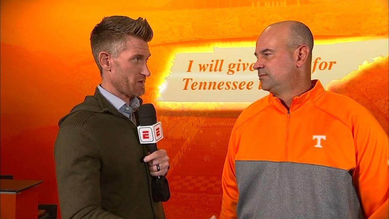 Pruitt addresses Tennessee's keys vs. Alabama