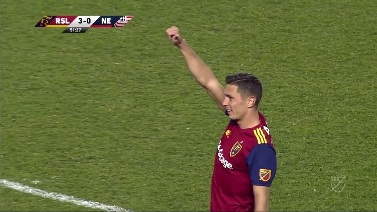 Highlights | RSL 4-1 NE - Via MLS