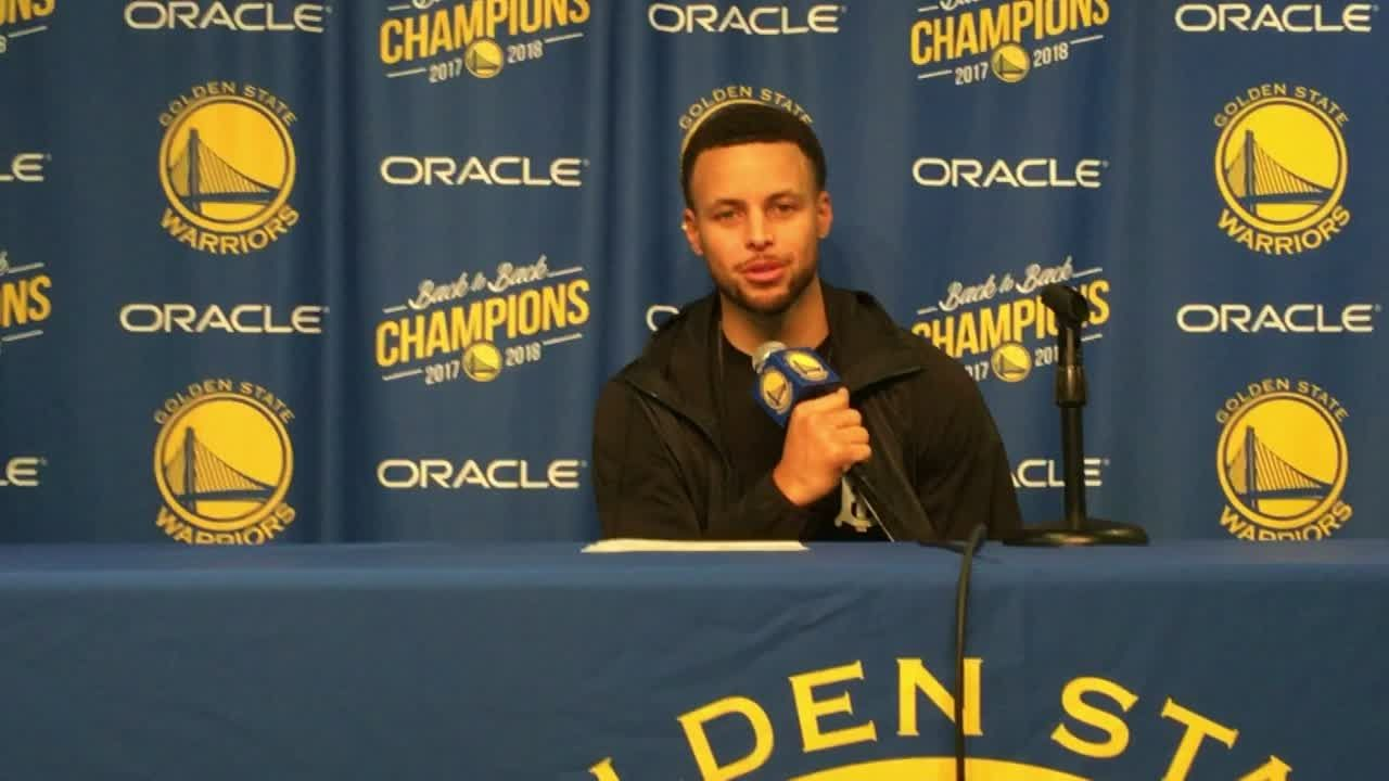 Curry on father/son points total: It's pretty special