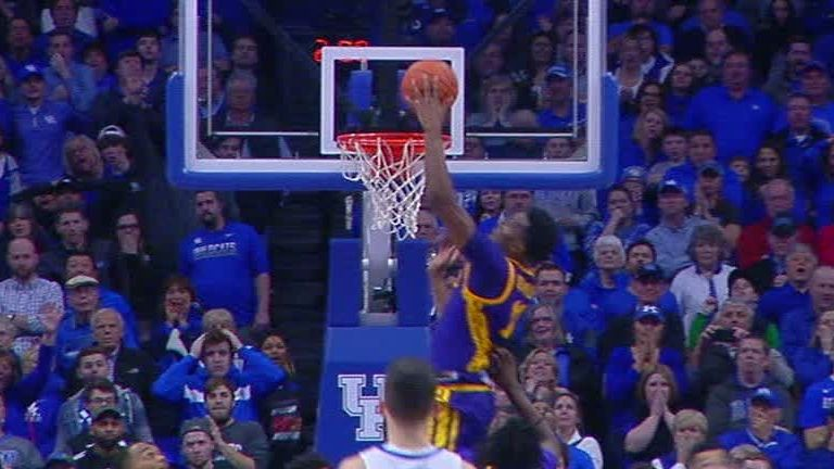 Lsu Upsets Kentucky On Buzzer Beating Tip In
