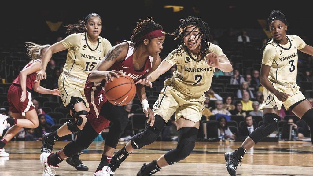Alabama dominates Vanderbilt