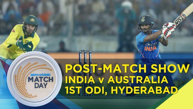 Match Day : India v Australia, 1st ODI, Hyderabad | India v