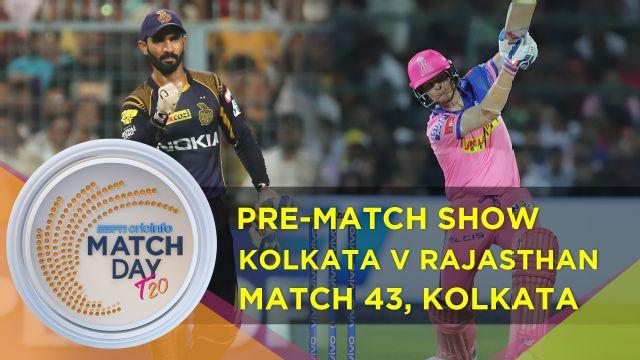 Match Day : Kolkata Knight Riders v Rajasthan Royals, IPL