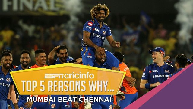 Match Analysis : Mumbai Indians v Chennai Super Kings, IPL