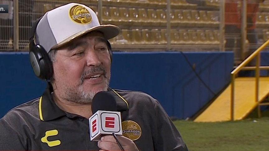 Maradona: I am at Dorados to work