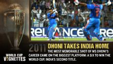 Dhoni takes India home
