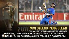 Yuvi steers India clear