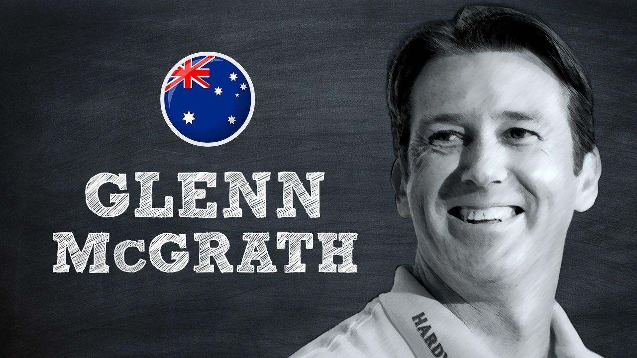 glenn mcgrath takes a quiz on his career