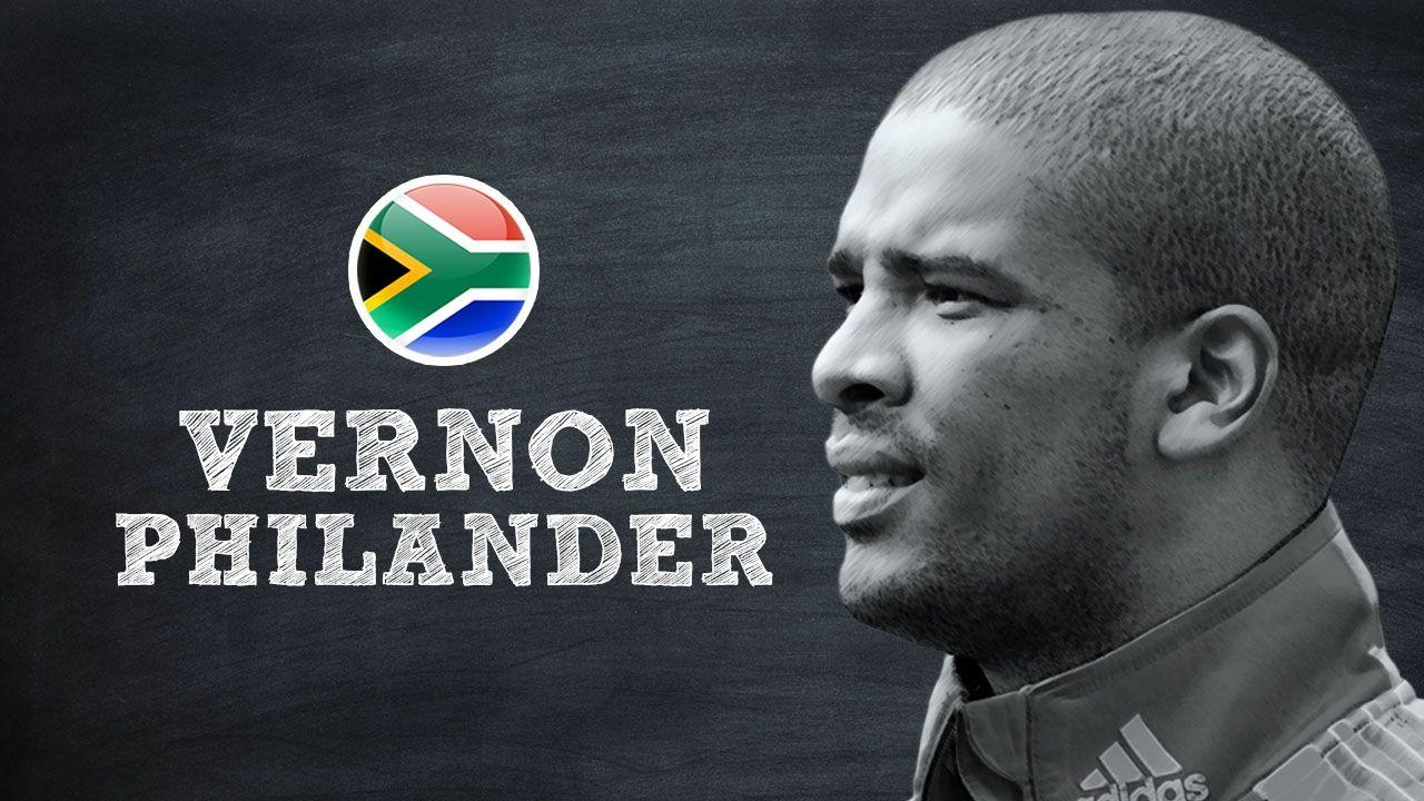 vernon philander takes a quiz on his career