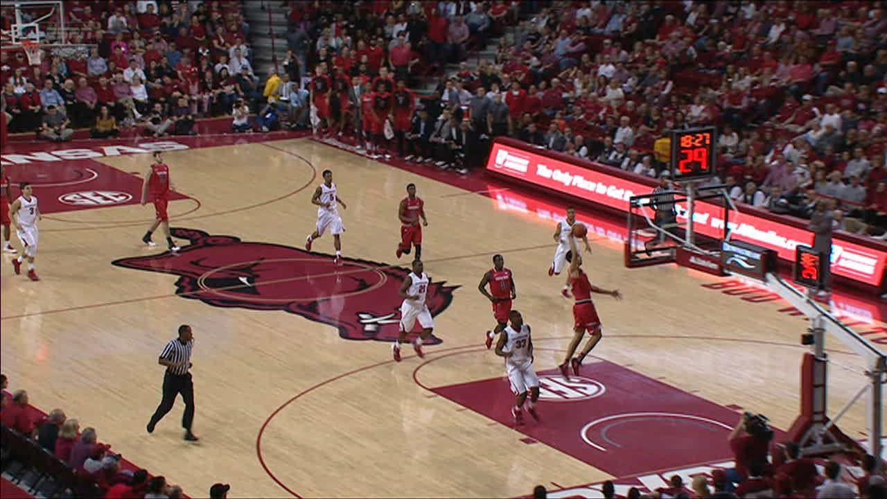 Z. Smith made Dunk. - ESPN Video