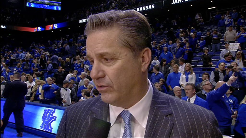 Calipari on Fox's injury