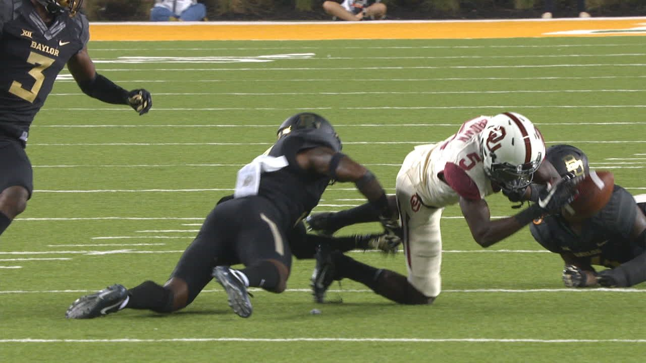 Turnover by OU gives Baylor momentum