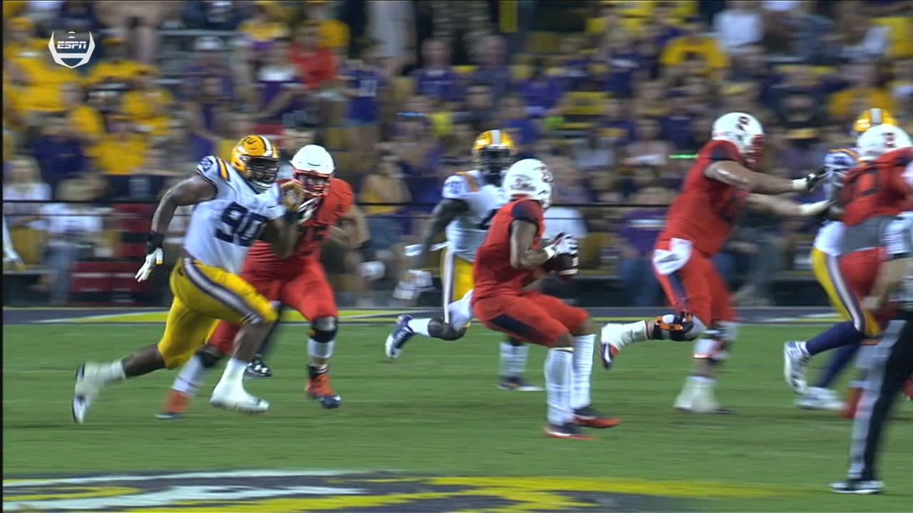 Syracuse scores first TD on trick play