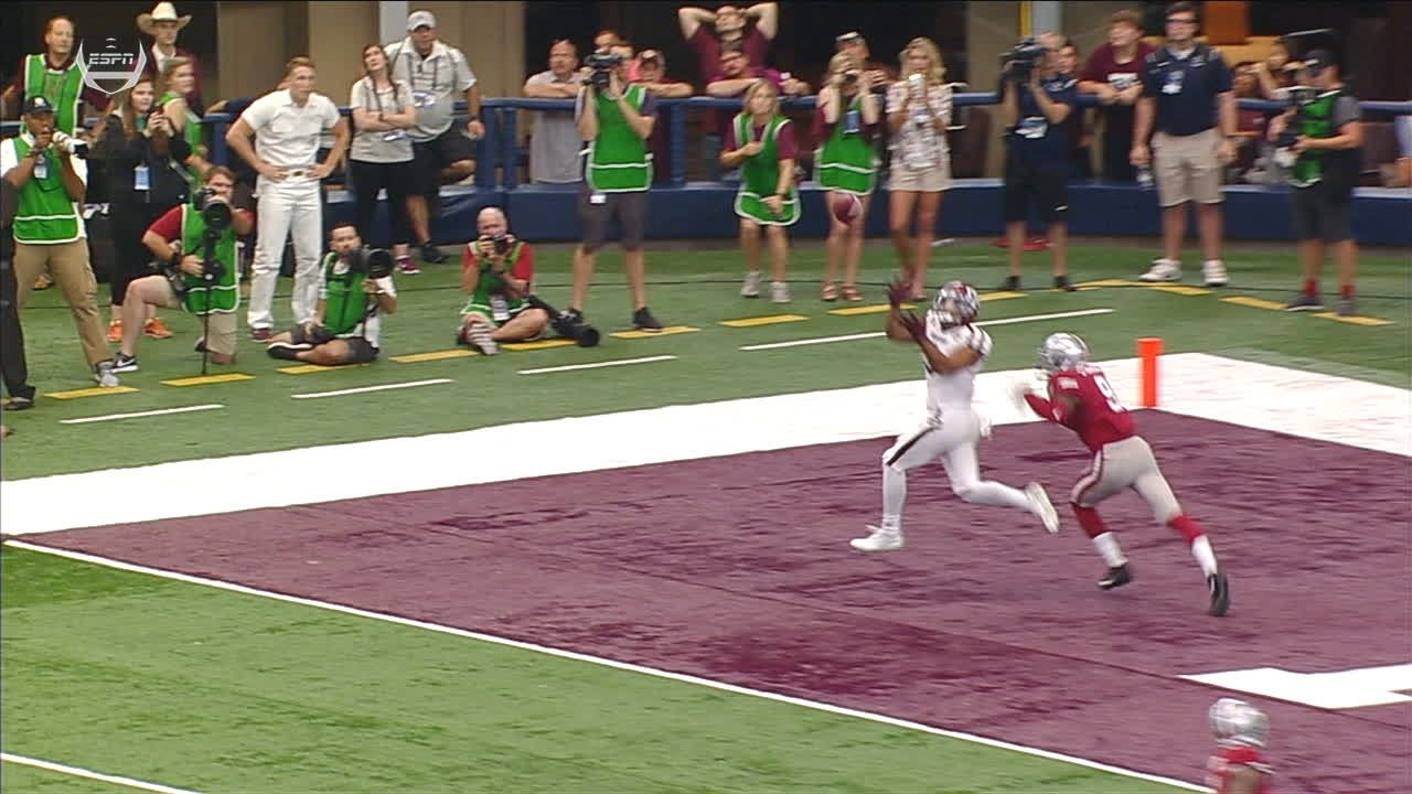 Texas A&M with first TD in OT