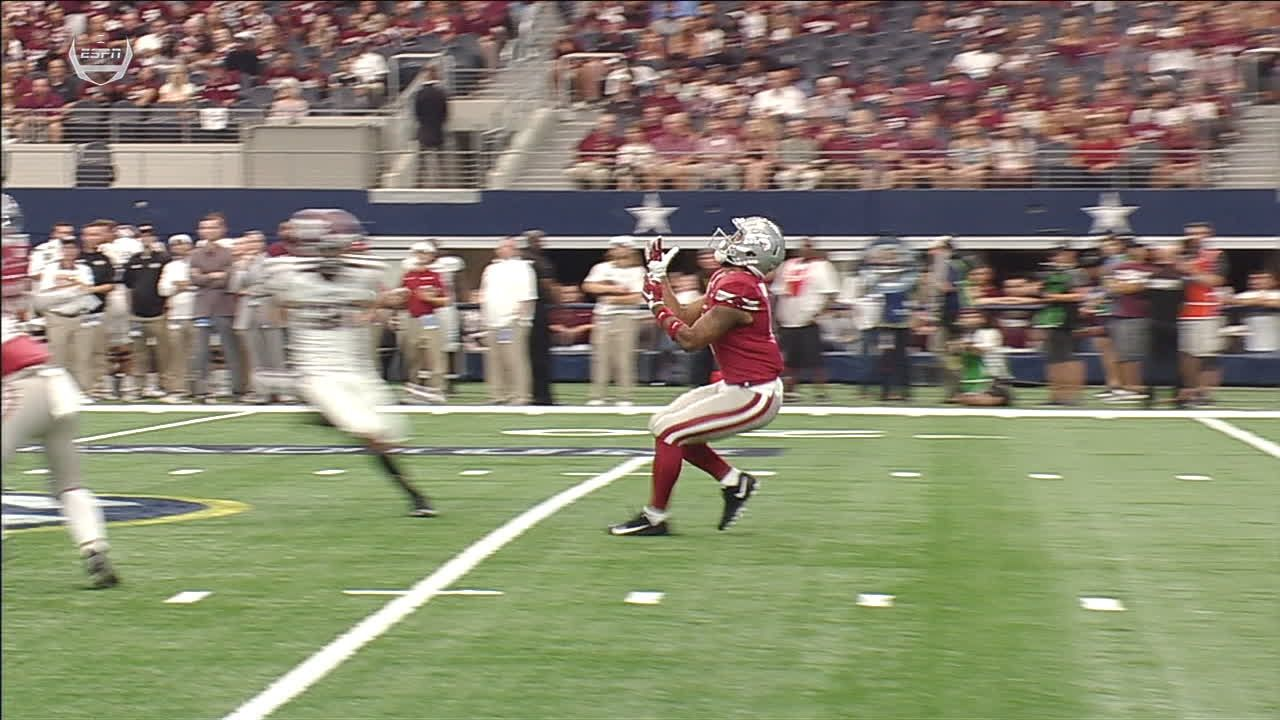 Arkansas' Fuller ejected for targeting on a punt