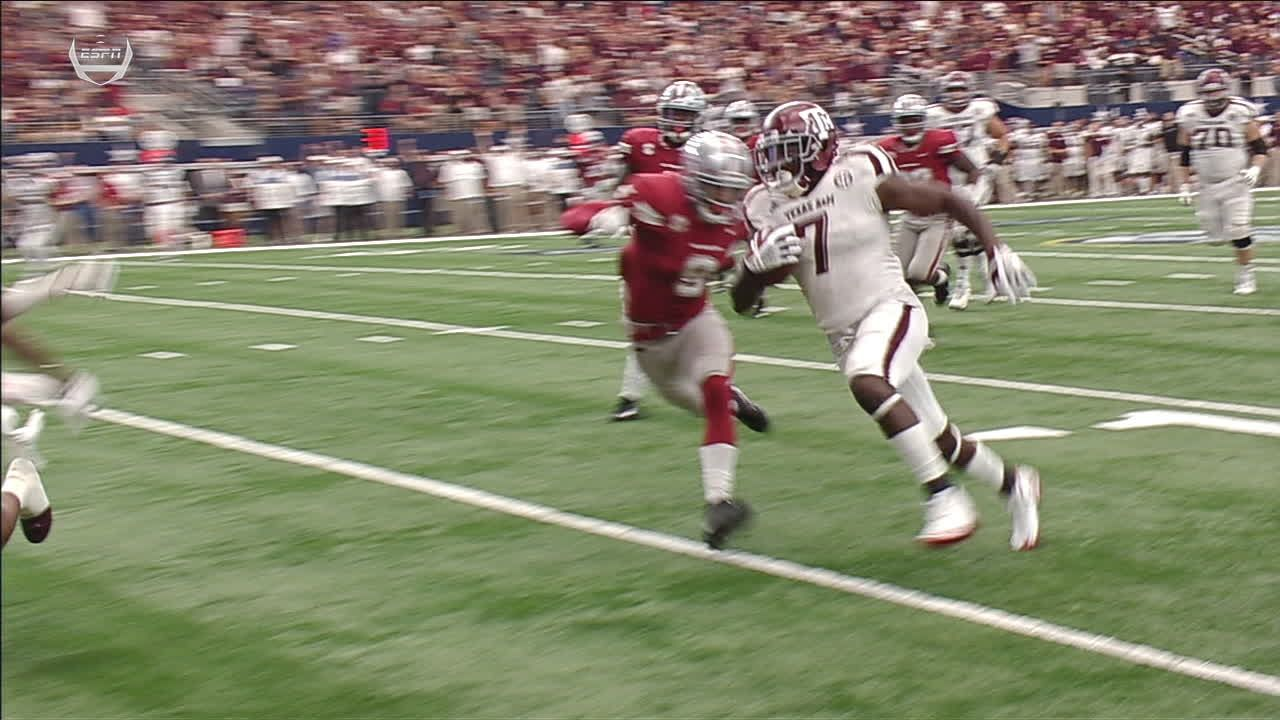 Texas A&M's Ford TD gives Aggies lead