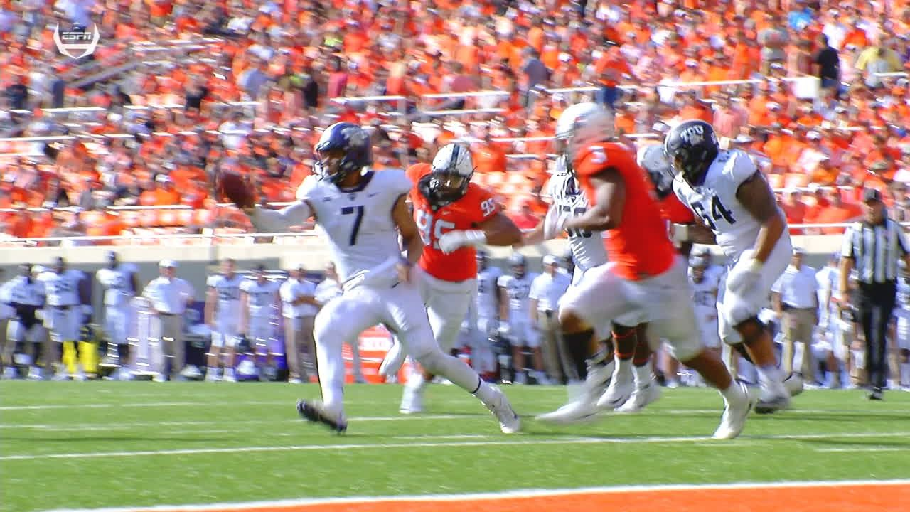 TCU finds TD success with the option