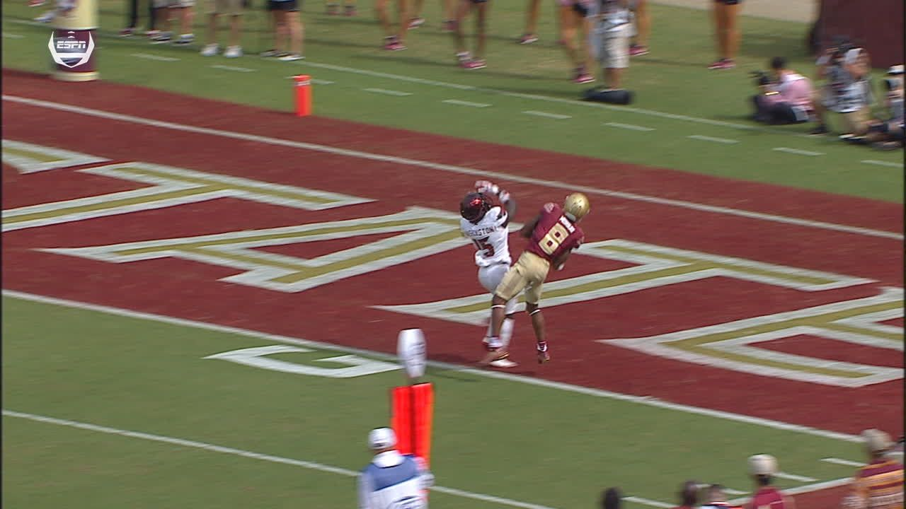 Seminoles' tie game with Murray TD
