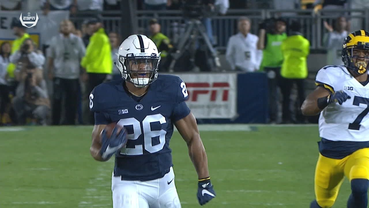 Barkley starts game off with 69-yard TD