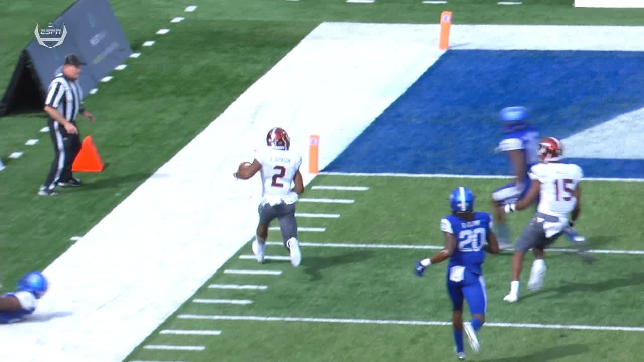 Troy scores on long TD pass