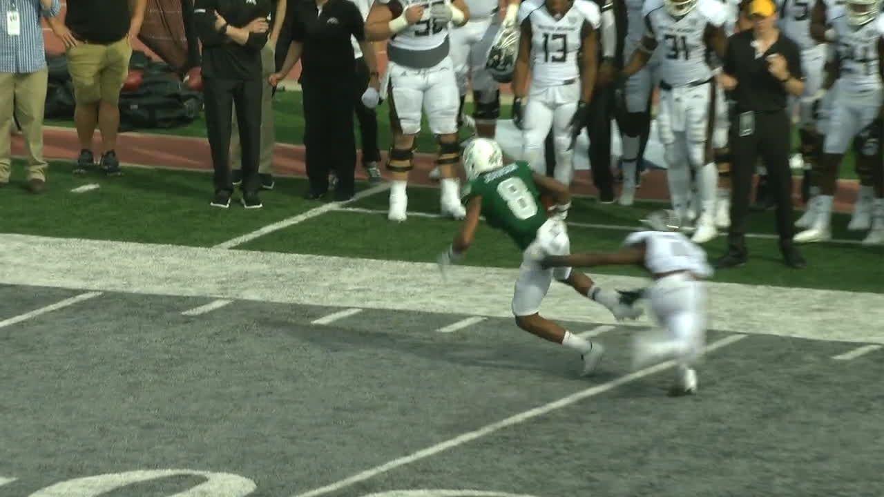 Johnson breaks free for 35-yard TD