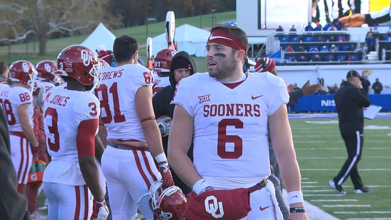 Mayfield's antics continue throughout game