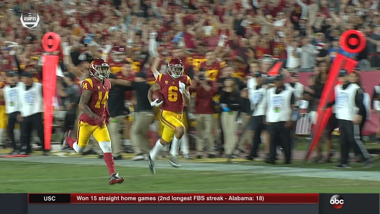 Masterful trickery from USC special teams leads to TD