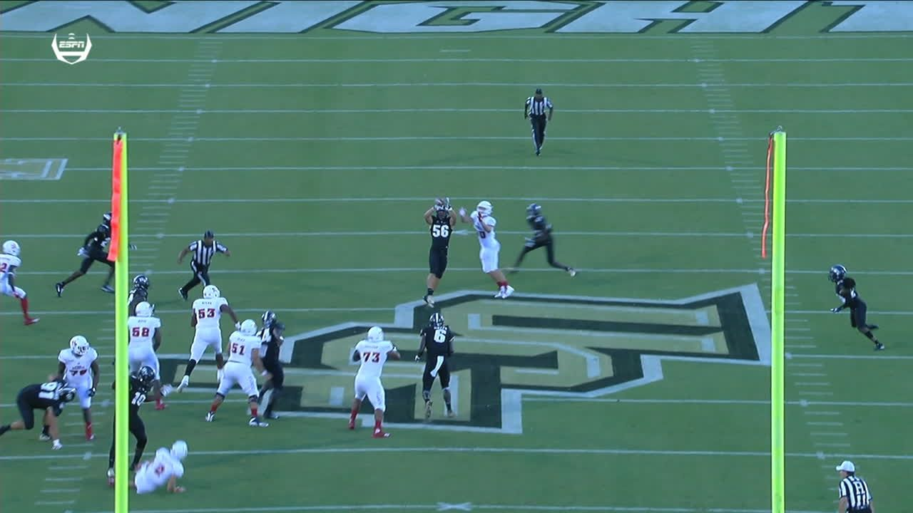 UCF comes away with INT on first drive of game