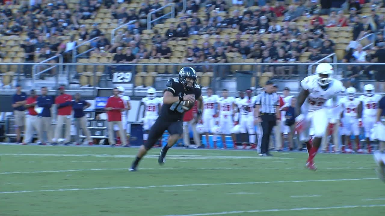 UCF takes lead on 12-yard QB keeper